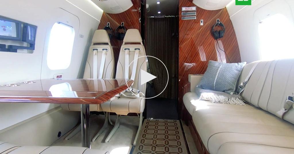 Российский вертолет для олигархов: видео изнутри