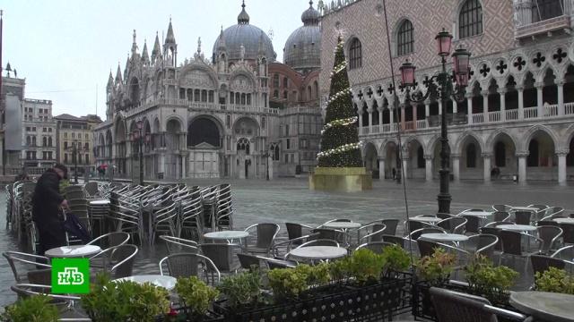 В Венеции оценили ущерб от сильнейшего за полвека наводнения.Венеция, Италия, наводнения.НТВ.Ru: новости, видео, программы телеканала НТВ