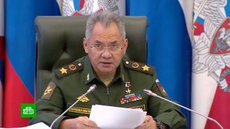 Шойгу обвинил Запад в попытке сменить власть в Белоруссии