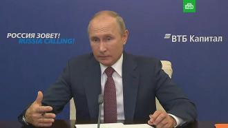 «Мы вэти вопросы не лезем»: Путин оситуации вБелоруссии