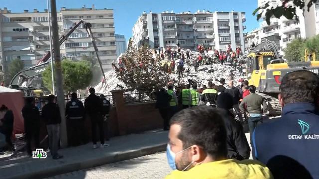 Число погибших при землетрясении вТурции увеличилось до 35.Греция, землетрясения, Турция.НТВ.Ru: новости, видео, программы телеканала НТВ