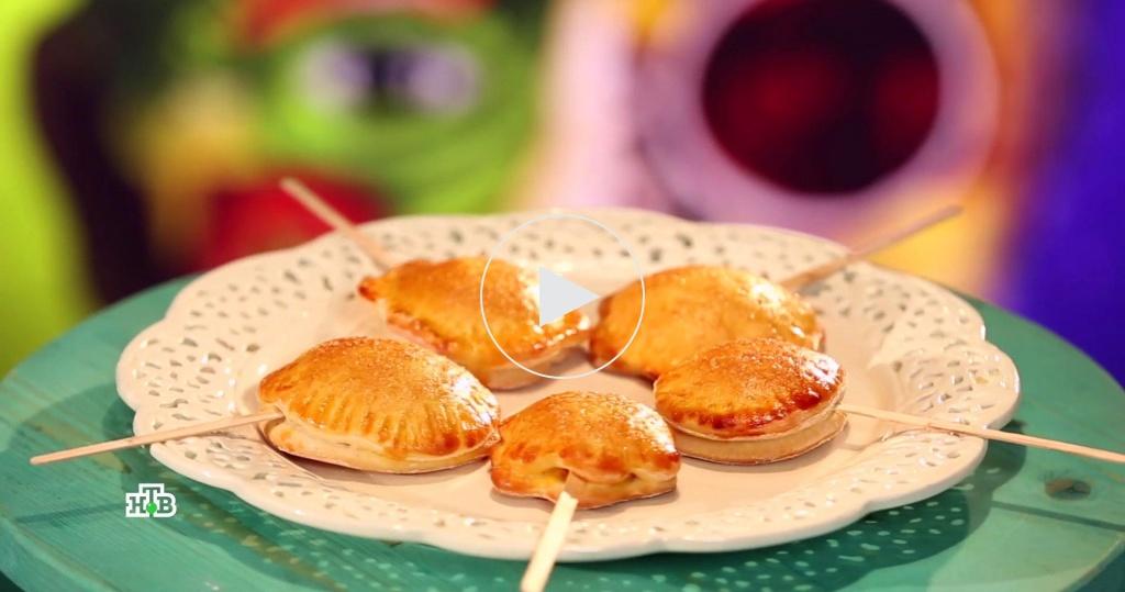 Тыквенное печенье на палочке