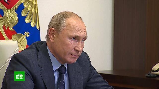 Путин потребовал объяснить задержки свыполнением космических программ.Путин, Рогозин, Роскосмос, космонавтика.НТВ.Ru: новости, видео, программы телеканала НТВ