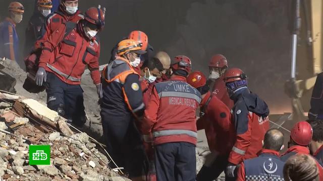 Число погибших при землетрясении вТурции возросло до 76.Турция, землетрясения, поисковые операции, стихийные бедствия.НТВ.Ru: новости, видео, программы телеканала НТВ