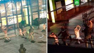 Задержание террористов вцентре Вены