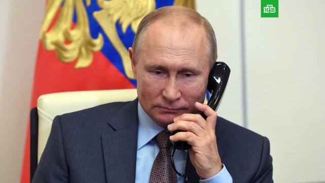 Путин обсудил сЛукашенко ситуацию вКарабахе иборьбу сCOVID-19.Белоруссия, Нагорный Карабах, Путин, коронавирус, митинги и протесты.НТВ.Ru: новости, видео, программы телеканала НТВ