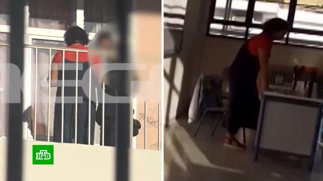 Учительница в Греции за отсутствие маски получила год тюрьмы условно.Греция, болезни, коронавирус, эпидемия.НТВ.Ru: новости, видео, программы телеканала НТВ