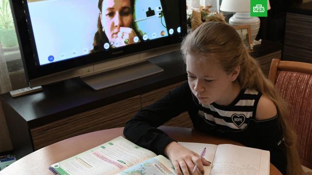 Дистанционку для старшеклассников вМоскве продлили до 22ноября.Москва, болезни, коронавирус, школы, эпидемия.НТВ.Ru: новости, видео, программы телеканала НТВ
