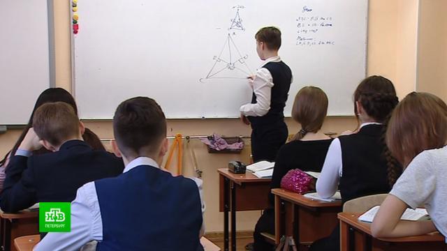 Петербургские школьники смогут учиться дистанционно по желанию родителей.Санкт-Петербург, коронавирус, образование, школы, эпидемия.НТВ.Ru: новости, видео, программы телеканала НТВ