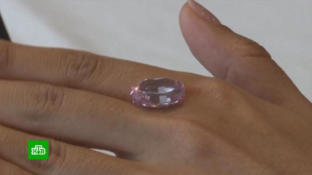 Российский розовый бриллиант может стать одним из самых дорогих в современной истории.Швейцария, аукционы, бриллианты.НТВ.Ru: новости, видео, программы телеканала НТВ