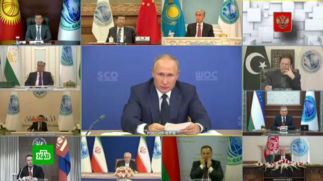 Путин рассказал осовместных мерах стран ШОС вборьбе сCOVID-19.Белоруссия, Великая Отечественная война, Путин, ШОС, дипломатия, история, коронавирус.НТВ.Ru: новости, видео, программы телеканала НТВ