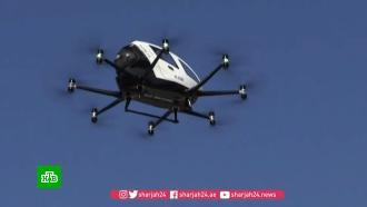 ВСеуле впервые испытали летающее беспилотное такси