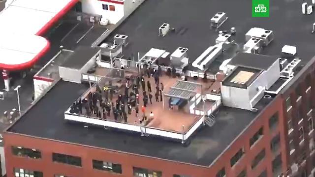 СМИ сообщили о захвате заложников в Монреале.Канада, заложники, полиция, спецслужбы.НТВ.Ru: новости, видео, программы телеканала НТВ