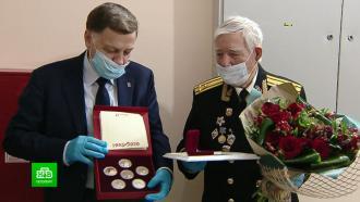 Ветерану войны из Петербурга вручили литературную премию маршала Говорова