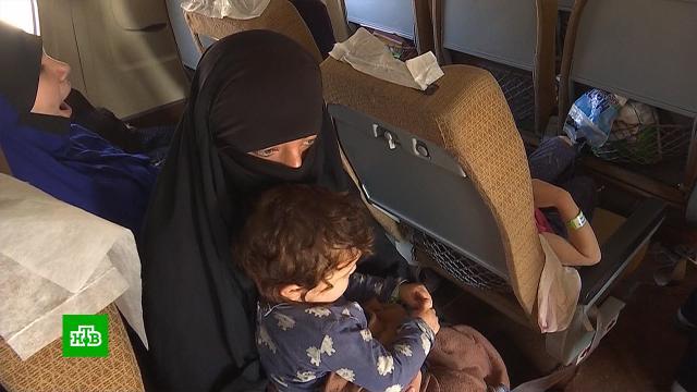 Находившиеся всирийских тюрьмах илагерях российские дети вернулись на родину.Сирия, войны и вооруженные конфликты, дети и подростки.НТВ.Ru: новости, видео, программы телеканала НТВ