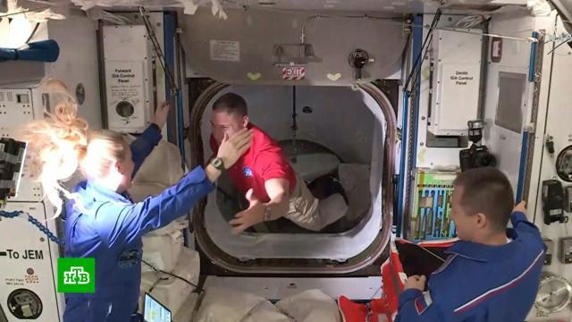 Экипаж корабля Crew Dragon— 1перешел на МКС.МКС, НАСА, космонавтика, космос.НТВ.Ru: новости, видео, программы телеканала НТВ