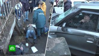 Калининградский пенсионер мог въехать в толпу специально