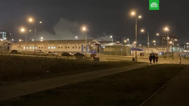 Вбольнице вКоммунарке вспыхнул пожар.Москва, больницы, пожары.НТВ.Ru: новости, видео, программы телеканала НТВ