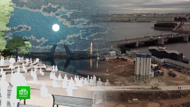 Наш ответ «Зарядью»: как будет выглядеть «Тучков буян» вПетербурге.Санкт-Петербург, архитектура, парки и скверы, строительство.НТВ.Ru: новости, видео, программы телеканала НТВ