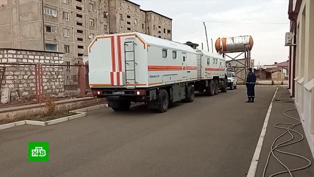 Российские миротворцы помогают населению Нагорного Карабаха налаживать быт.Азербайджан, Армения, Нагорный Карабах, войны и вооруженные конфликты, гуманитарная помощь.НТВ.Ru: новости, видео, программы телеканала НТВ