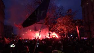 «Призрак ковид-диссидентства»: куда вынесет Европу протестная волна.НТВ.Ru: новости, видео, программы телеканала НТВ