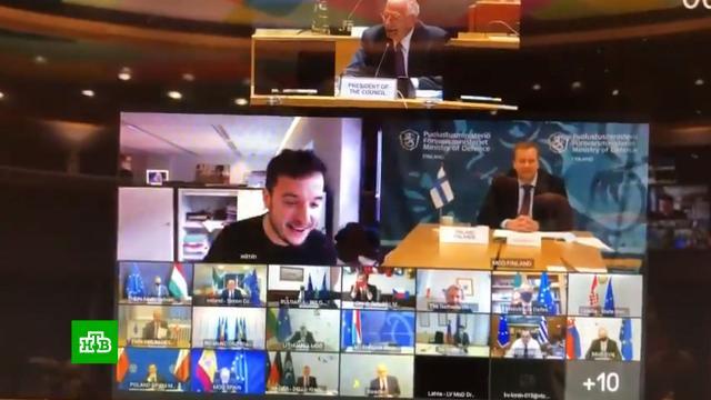 Журналист подключился к секретной конференции ЕС, подобрав пароль.Европейский союз, журналистика, компьютерная безопасность, курьезы.НТВ.Ru: новости, видео, программы телеканала НТВ