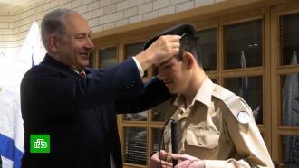 Вармию Израиля на постоянной основе приняли слепого солдата