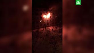 Четверо детей пострадали при пожаре вПодмосковье