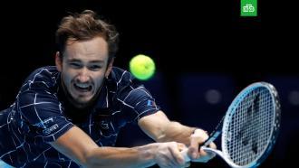 Теннисист Даниил Медведев стал победителем итогового турнира ATP