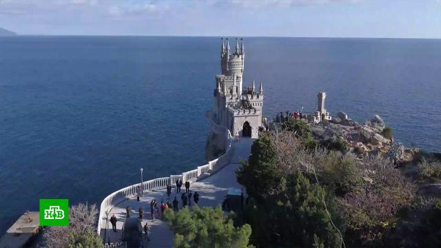 Замок «Ласточкино гнездо» открылся после реконструкции.Крым, реконструкция и реставрация.НТВ.Ru: новости, видео, программы телеканала НТВ