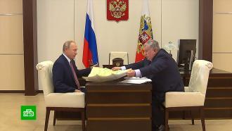 Путин обсудил сСечиным два российских мегапроекта
