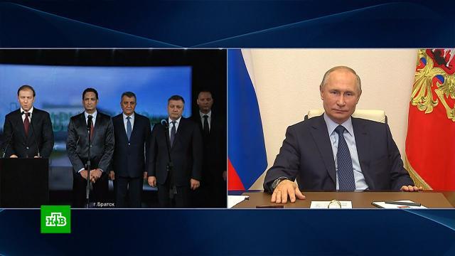 Путин по видеосвязи запустил новый фармацевтический цех.Путин, медицина.НТВ.Ru: новости, видео, программы телеканала НТВ