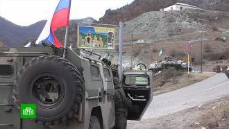 На отошедших Азербайджану территориях карабахские военные взорвали армейские объекты