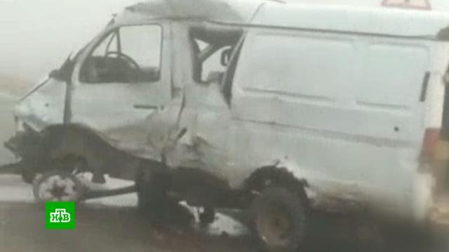 ДТП с микроавтобусом на Кубани: 6 погибших.ДТП, Краснодарский край.НТВ.Ru: новости, видео, программы телеканала НТВ