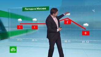 Утренний прогноз погоды на 27ноября