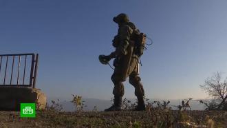 Российские саперы продолжают разминирование населенных пунктов вКарабахе