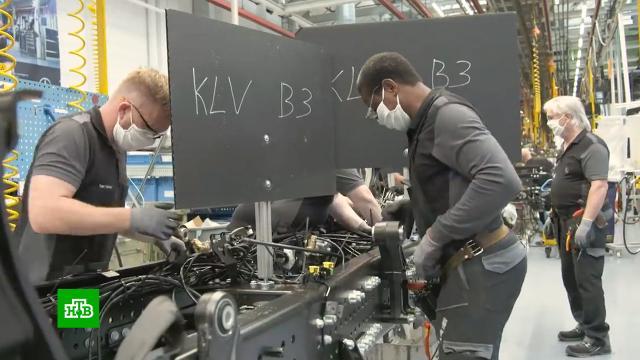 Автоконцерн Daimler выплатит работникам «коронавирусные» премии.Германия, зарплаты, промышленность.НТВ.Ru: новости, видео, программы телеканала НТВ