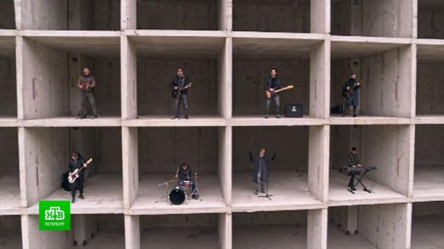 «ДДТ» представила новый клип, снятый на стройке.Ленинградская область, Санкт-Петербург, музыка и музыканты.НТВ.Ru: новости, видео, программы телеканала НТВ