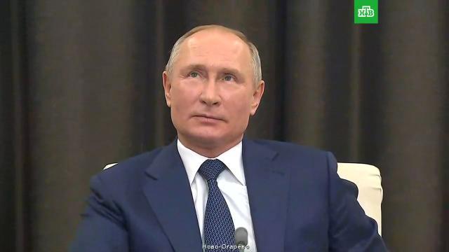 Путин ответил на вопрос, можетли искусственный интеллект стать президентом.Путин, технологии.НТВ.Ru: новости, видео, программы телеканала НТВ