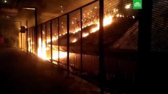 На МЦД-2 устранили последствия пожара на станции Москворечье