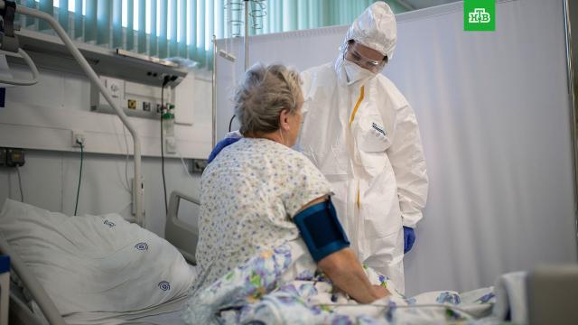 ВРоссии— новый антирекорд по числу зараженных COVID-19.болезни, коронавирус, эпидемия.НТВ.Ru: новости, видео, программы телеканала НТВ
