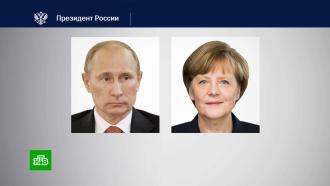 Путин обсудил сМеркель Карабах, Донбасс икоронавирус