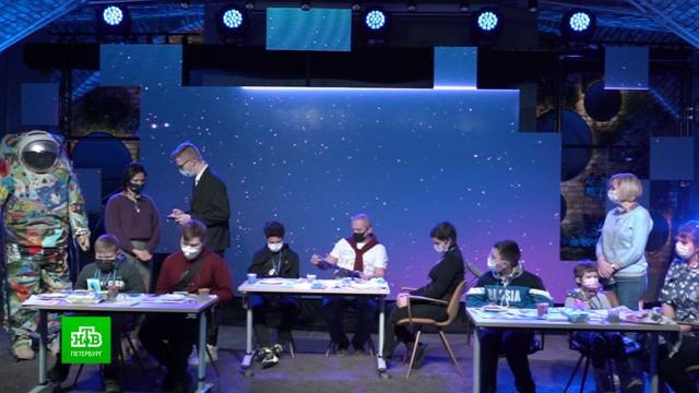 Космонавты помогли осуществить мечту онкобольных детей из Петербурга.Новый год, Санкт-Петербург, благотворительность, дети и подростки, онкологические заболевания.НТВ.Ru: новости, видео, программы телеканала НТВ