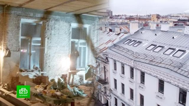 Жильцы дома Кутузова судятся из-за чердака, незаконно превратившегося вмансарду.ЖКХ, Санкт-Петербург, реконструкция и реставрация, строительство, суды.НТВ.Ru: новости, видео, программы телеканала НТВ