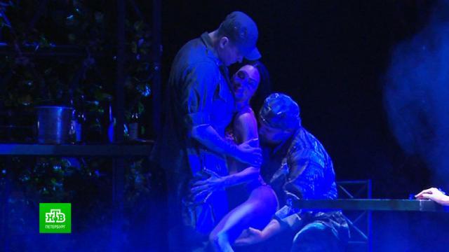 На петербургской сцене впервые споют и сыграют «Мисс Сайгон».Санкт-Петербург, мюзиклы, театр.НТВ.Ru: новости, видео, программы телеканала НТВ