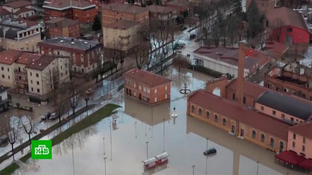 В Италии растет число жертв наводнения.Италия, наводнения, стихийные бедствия.НТВ.Ru: новости, видео, программы телеканала НТВ