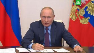 Путин— оРунете, цензуре иблокировке зарубежных <nobr>интернет-платформ</nobr>