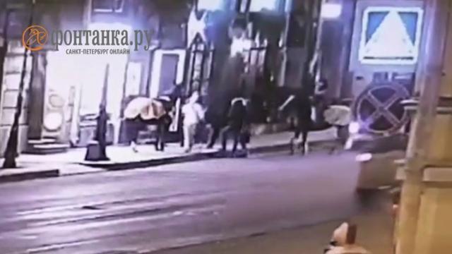 Пьяный петербуржец хотел поцеловать лошадь и остался без носа.Санкт-Петербург, кони и конный спорт, курьезы, пьяные.НТВ.Ru: новости, видео, программы телеканала НТВ