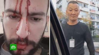 Охранник супермаркета объяснил, почему разбил машину таксиста вСочи