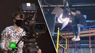 Тесты ПЦР идесятки телекамер: как готовятся к<nobr>пресс-конференции</nobr> Путина в<nobr>Ростове-на-Дону</nobr>